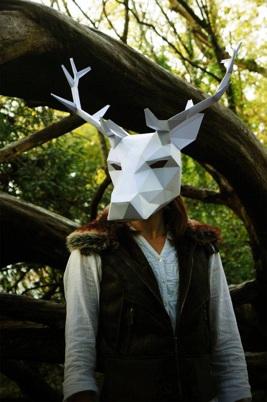 Помни про Хэллоуин: маски Wintercroft