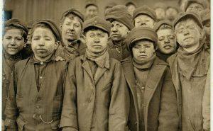 Маленькие работники угольной шахты в Пенсильвании. 1911 год