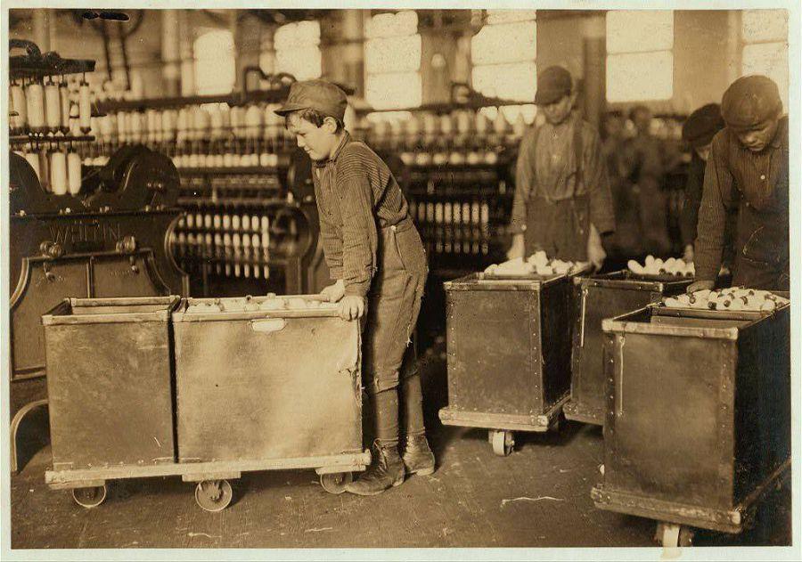 Фабрика в Северной Каролине, США. 1908 год
