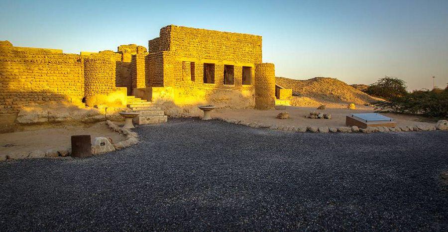 развалины древнего города Харире