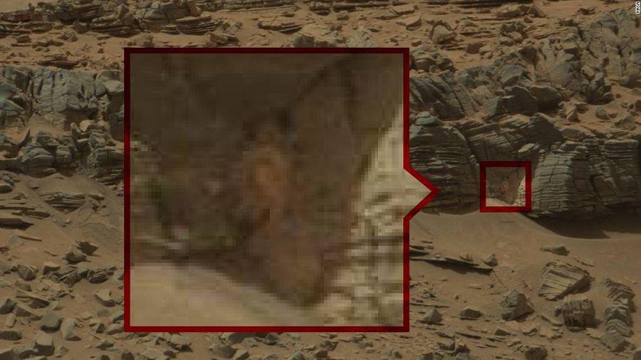 жизнь на Марсе сужествует