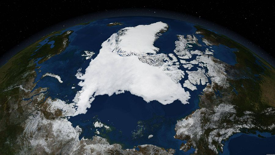 ледяной покров Арктики
