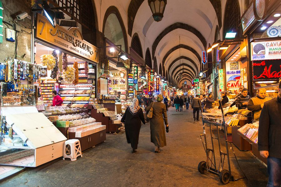 Grand Bazar в Стамбуле