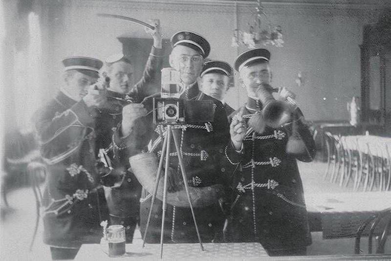 Совместное сэлфи. Германия, 1912 г.