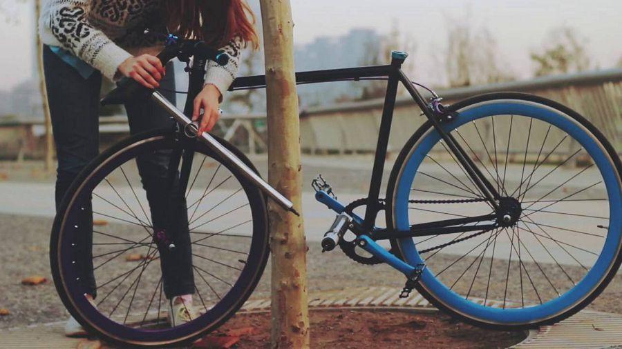 противоугонный велосипед Yerka