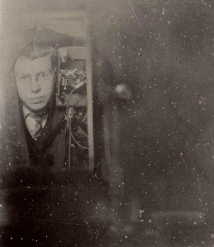 Неизвестный мужчина, 1900-е.
