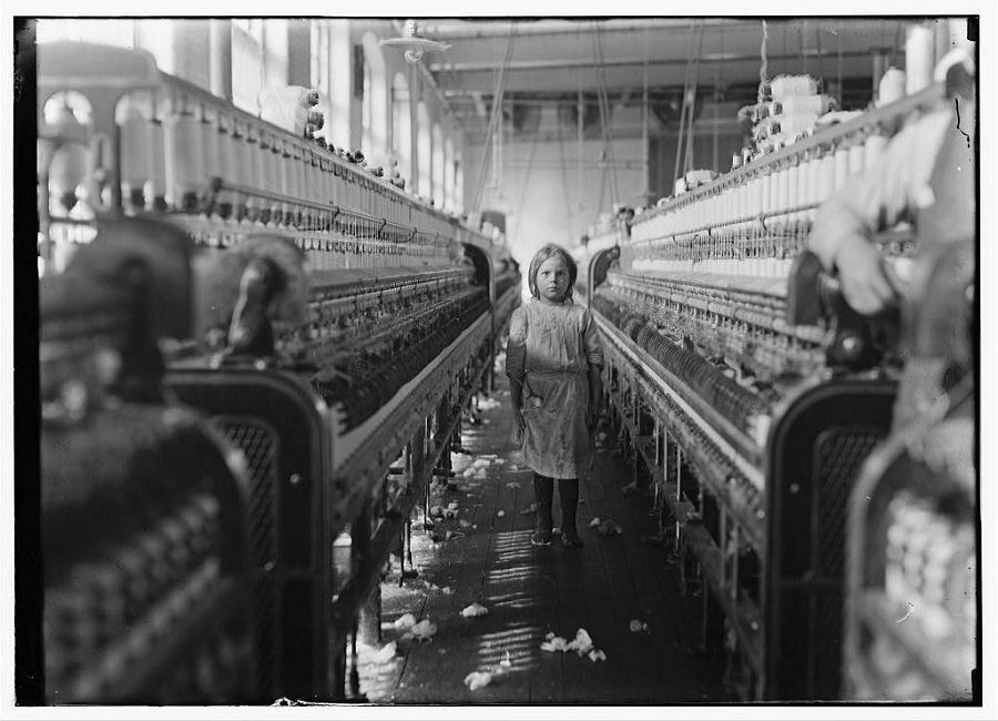 a description of child labor since the beginning of the industrial age Free essay: labor force during the first industrial revolution, many social standards of the community were starting to change since there were new spinning.