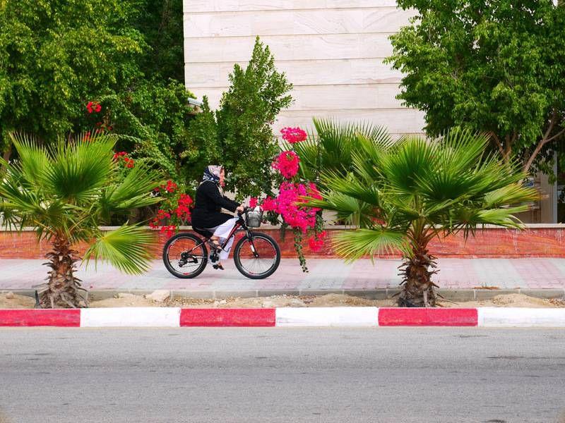 велотуризм на острове Киш