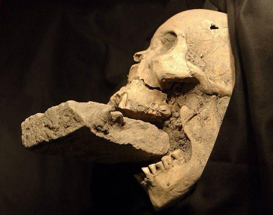 археологическая находка на острове Лазаретто-Нуово