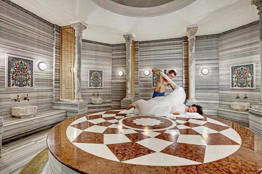 турецкие бани хаммам