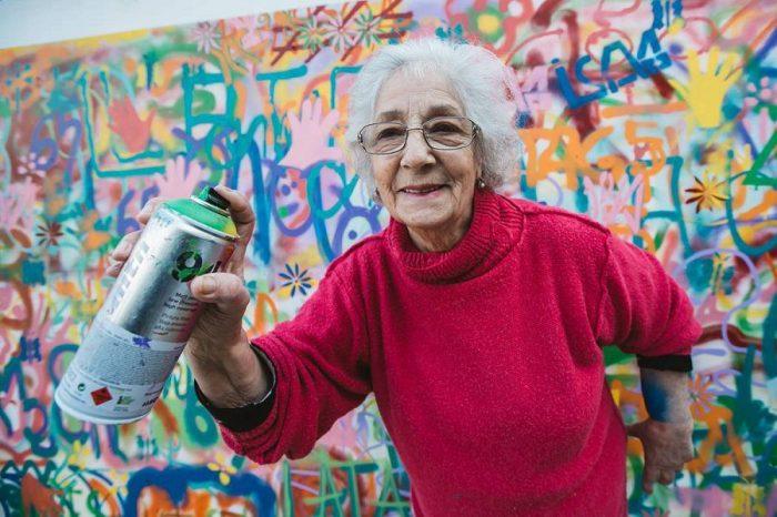 Lata65: граффити-бабушки выходят на улицы!