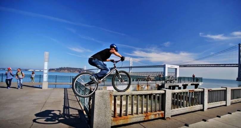 Паркур на велосипеде 2