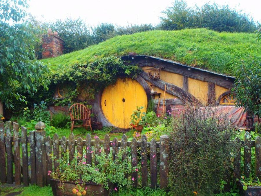 Сказочные дома в гармонии с природой 2