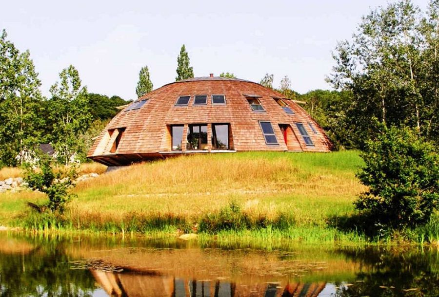 Сказочные дома в гармонии с природой 3