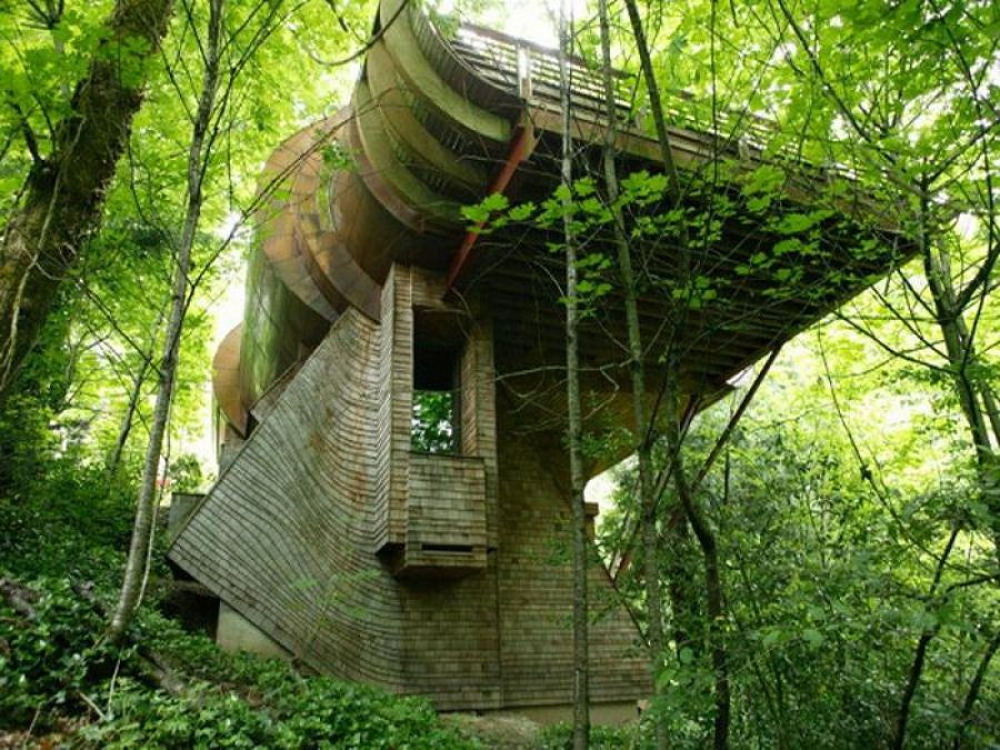 Сказочные дома в гармонии с природой 6