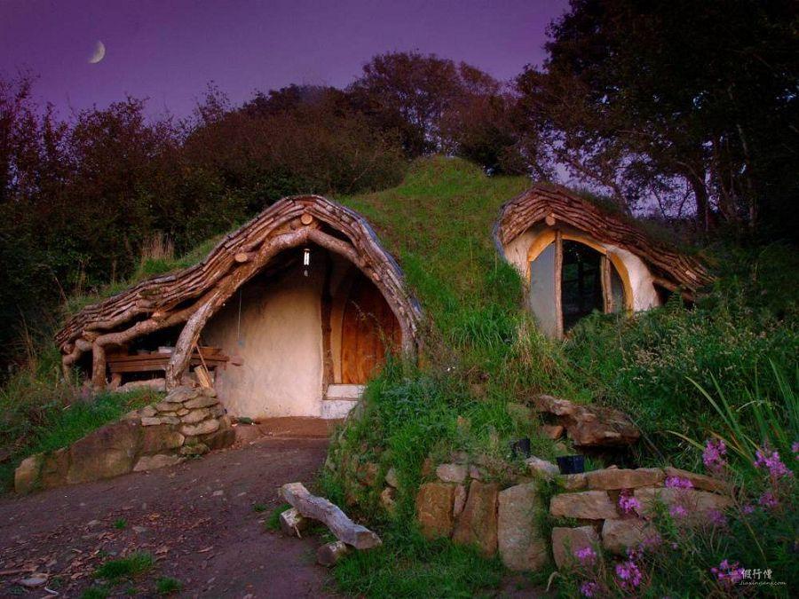 Сказочные дома в гармонии с природой 9