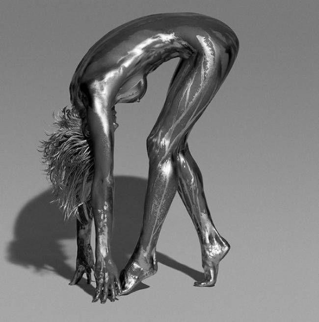 Живая скульптура от Гвидо Ардженитини 12