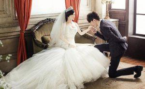 свадьба с куклой