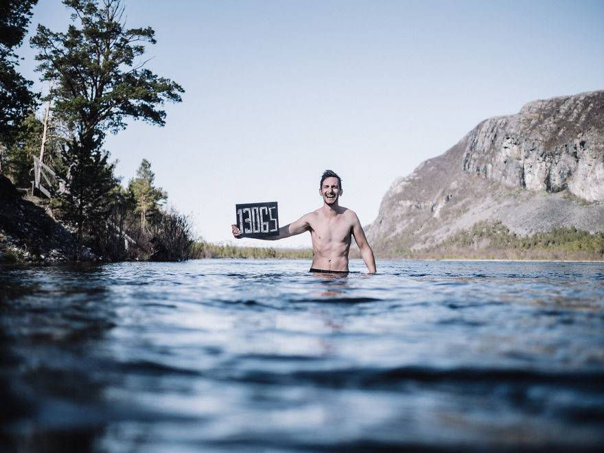 13 065 км, Алта, Норвегия