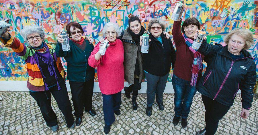Lata65: граффити-бабушки