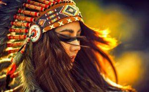 Проблеск жизни индейской резервации в штате Монтана