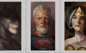 постаревшие супергерои