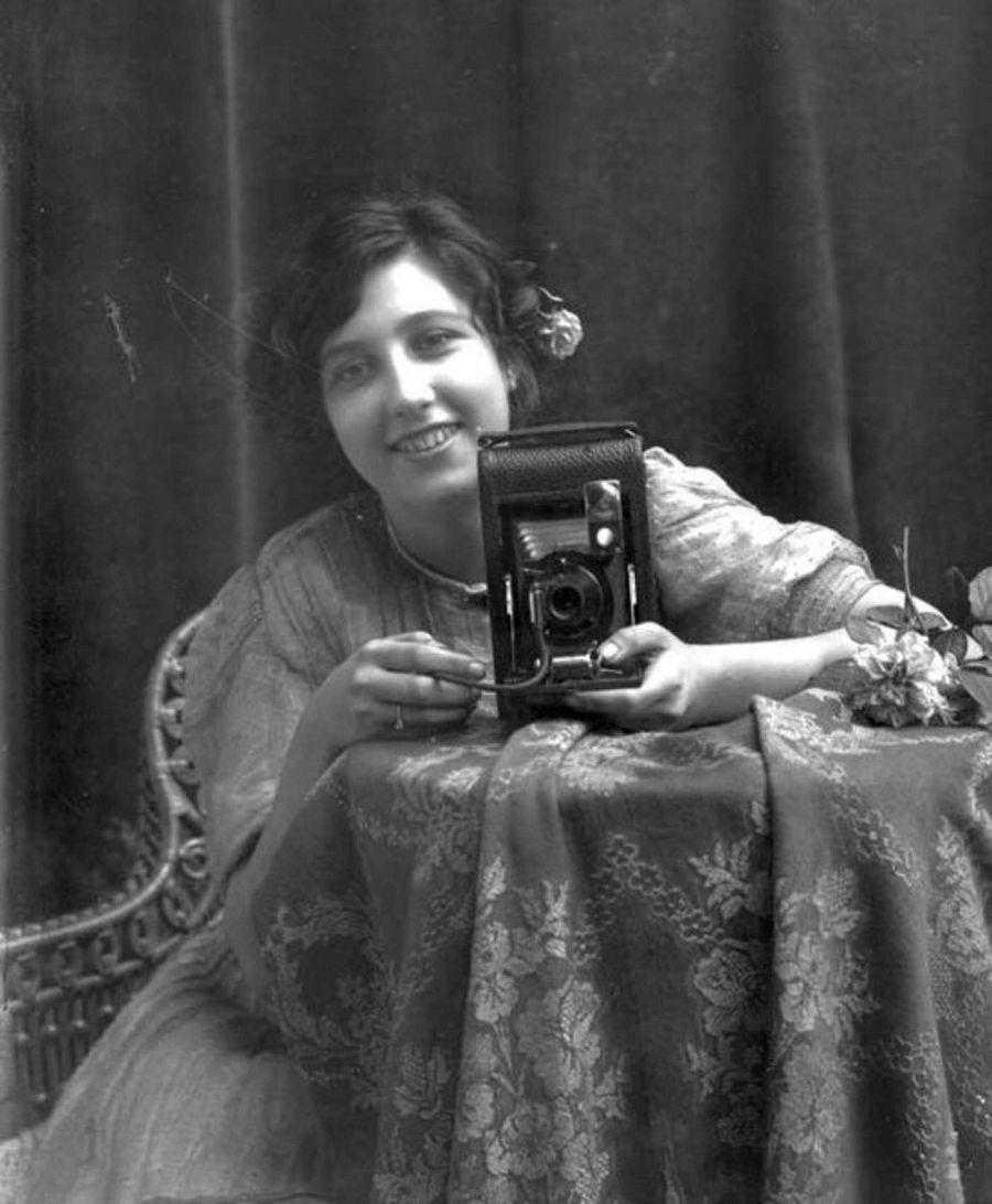 Неизвестная женщина, Таллахасси, Флорида, ок. 1900.