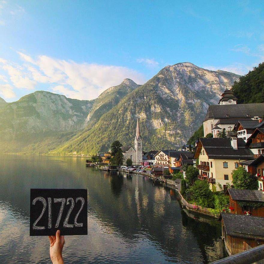 21 722 км, Гальштат, Австрия
