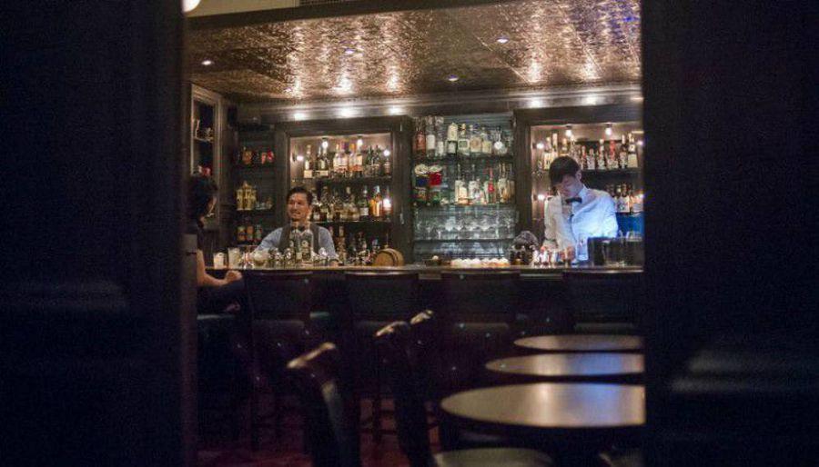 оформление баров в скрытом стиле