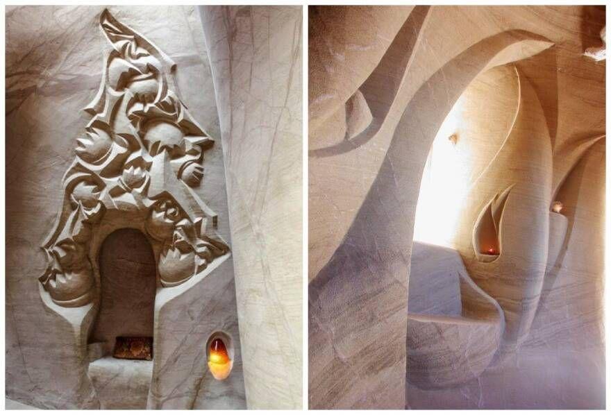 Волшебный дворец в скалах Нью-Мехико
