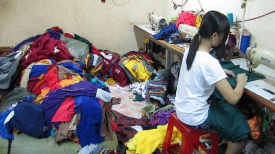Фабрика по производству одежды во Вьетнаме
