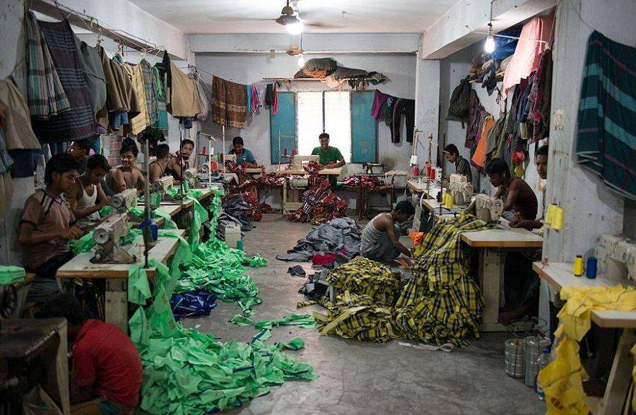 Швейная фабрика в Бангладеш
