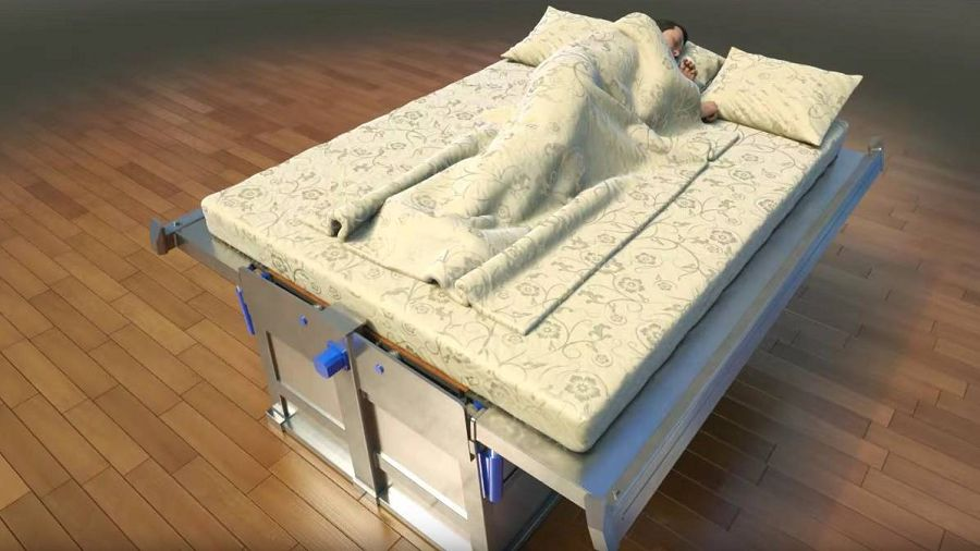 earthquake-bed