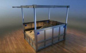 Кровать поможет пережить землетрясение