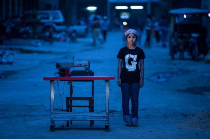 Камбоджийская швейная фабрика