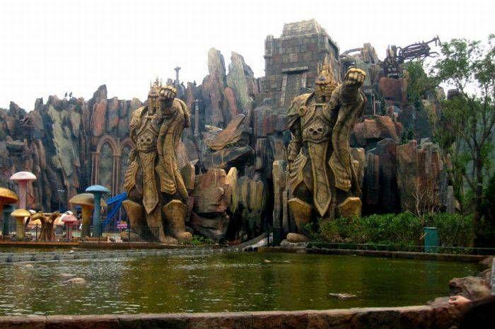 Самые необычные развлекательные парки мира