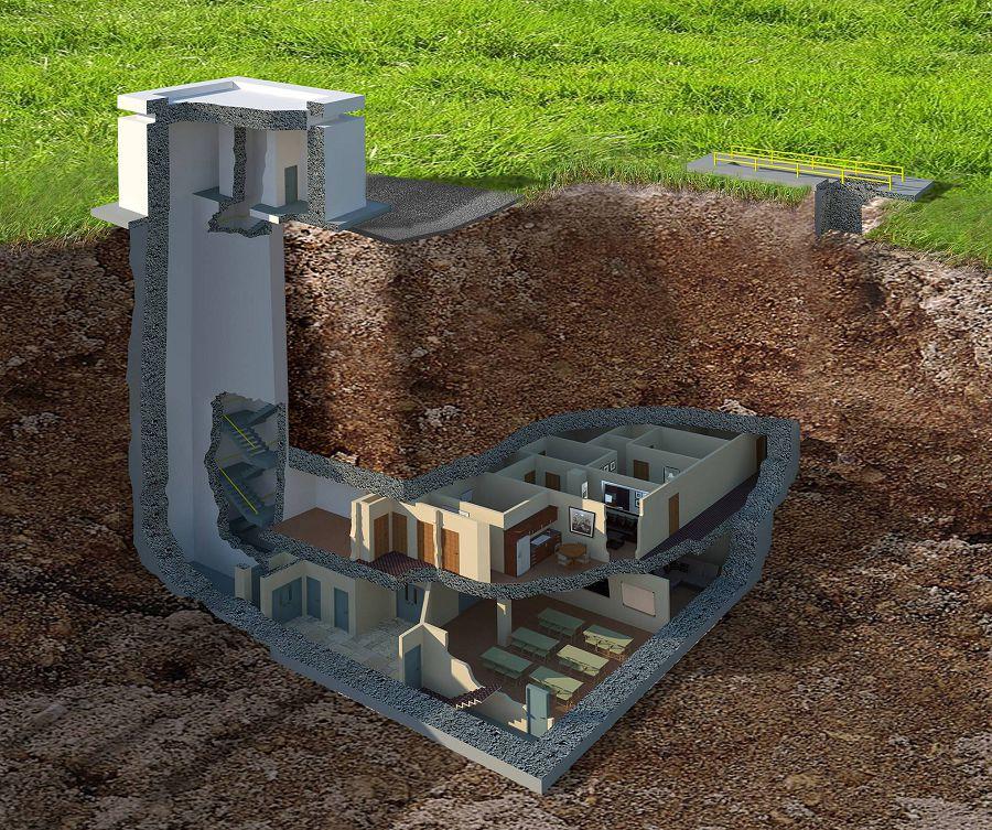 подземный особняк стоимостью $17,500,000