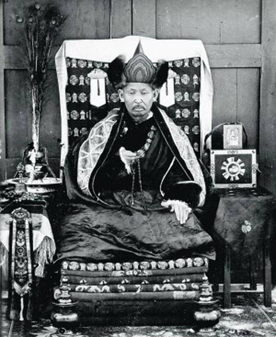 медитация монах лама Итигэлов