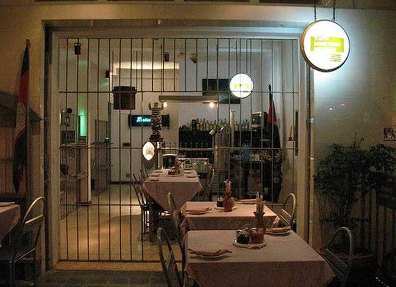 Ресторан на территории действующей тюрьмы