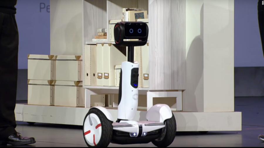 робот-дворецкий
