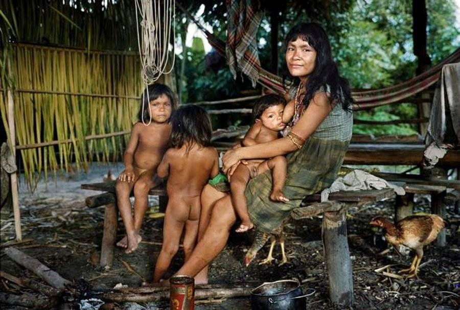 Самые дикие племена, живущие в наше время