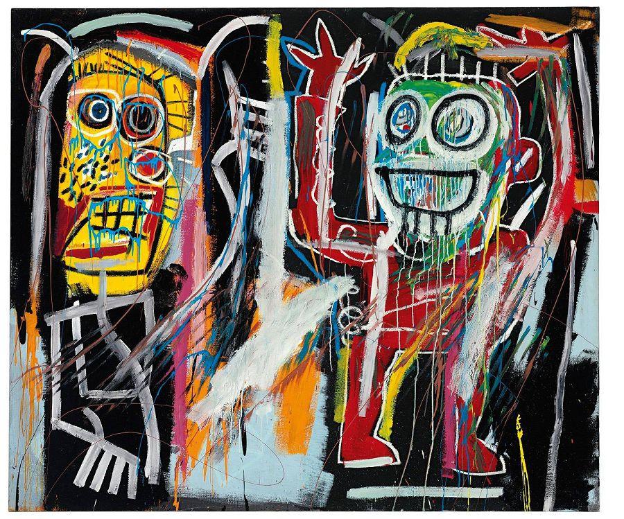 Жан-Мишель Баския. «Затуманенные головы»