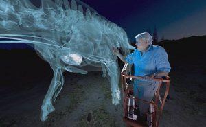 виртуальный динозавр