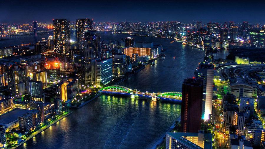 Мегаполисы ночью: скрытое от глаз
