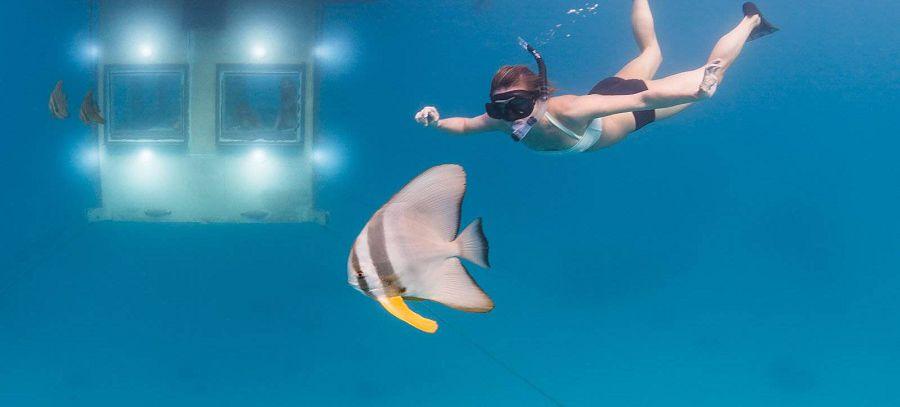Плавающий отель - Manta Resort