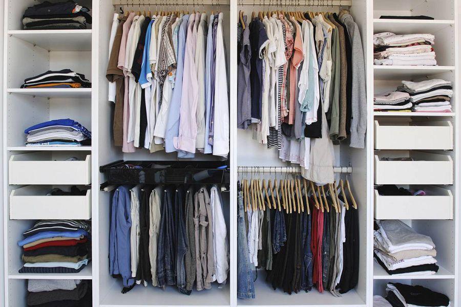 Как справиться с хаосом в шкафу?