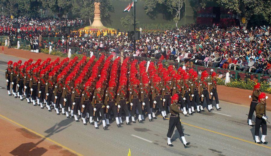 военная форма в индии