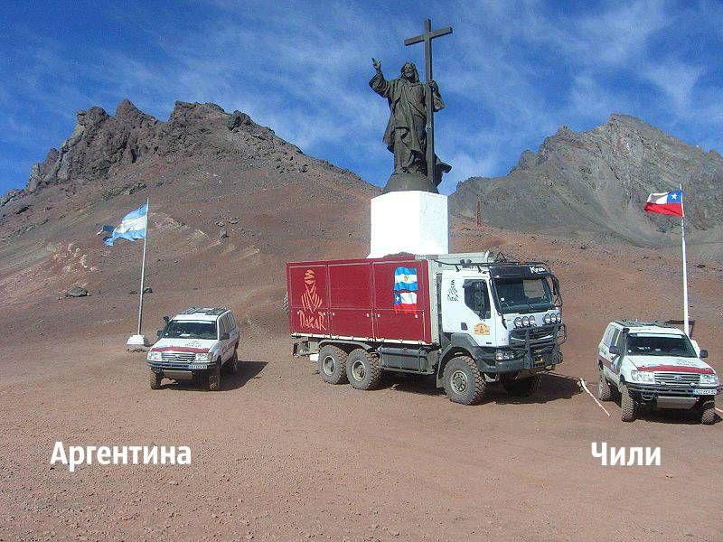 Аргентина, Чили, граница