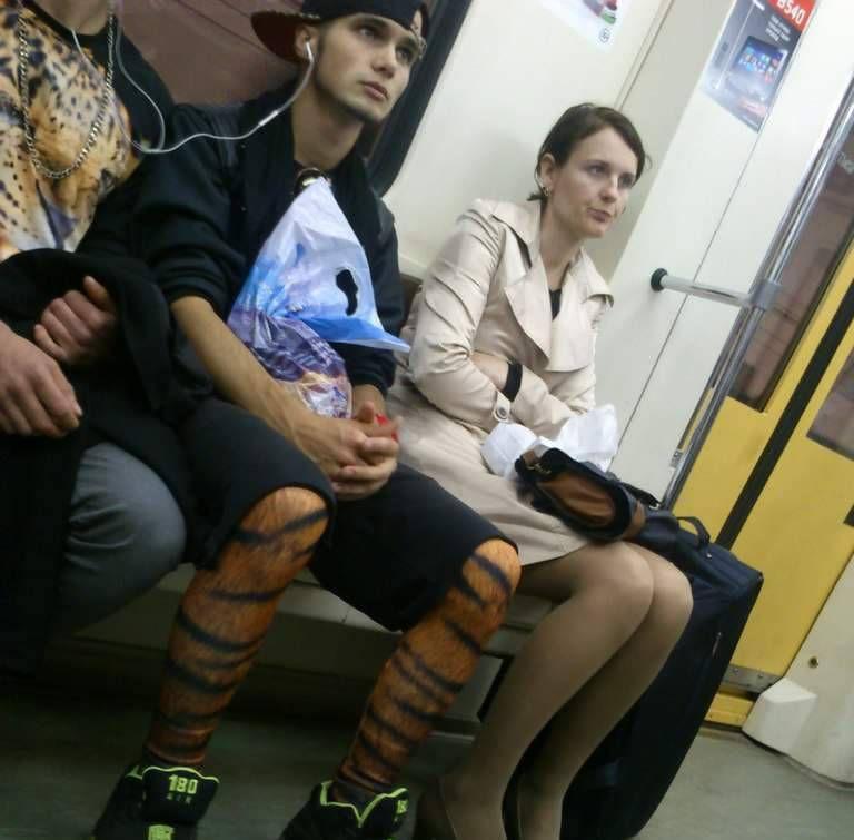 полосатые ноги