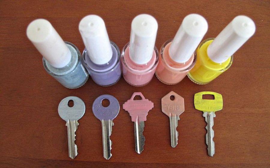 упорядочить ключи